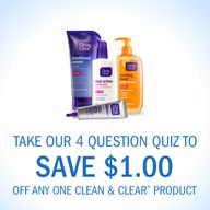 $1 off ANY Clean & C