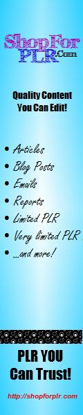 Awesome Deals On PLR