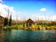 Cabin on Elk Lake, O
