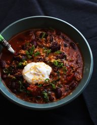 Homemade Chili Recip
