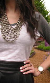 statement necklace +