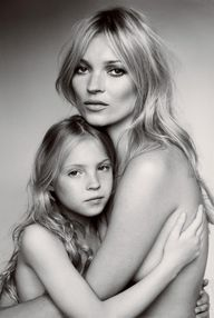 kate moss by mario t...