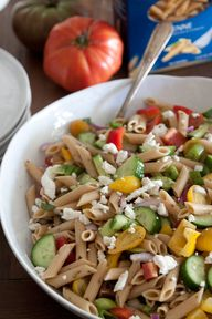 Greek Pasta Salad vi
