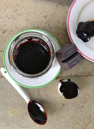 bourbon hot fudge...
