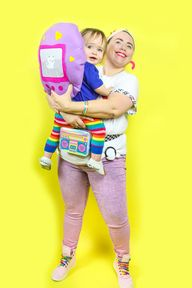 90's Throwback Teen and Tamagotchi Themed Mommy & Me Costume!