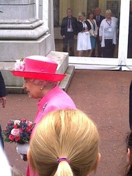The Queen in Glasgow