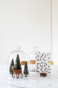 cloches with deer /