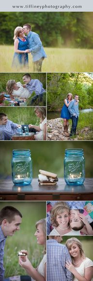 Picnic Engagement Se