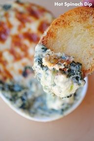 Hot Cheesy Spinach D
