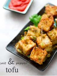 Salt and Pepper Tofu Restaurant Style by Veggie Belly