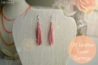 DIY Leather Tassel E