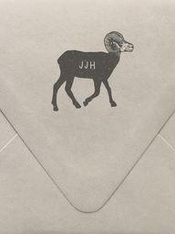 Big Horn Sheep Monog