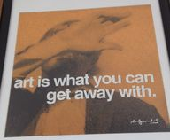 Words by Andy Warhol