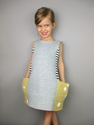 Dress with big pocke
