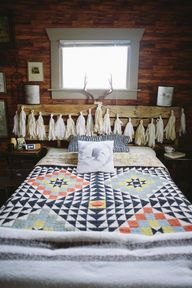 .This is cozy and dreamy, but it also give me an idea for a ghostie project for my boys!