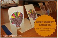 Nerf Turkey Targets...