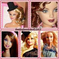 Barbie mosaic...