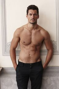David Gandy topless