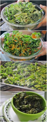 Kale Chips Recipes #