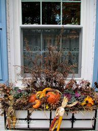 Fall Decorating at O