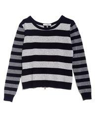 Striped cashmere swe