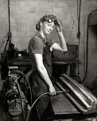 Woman worker at Curt