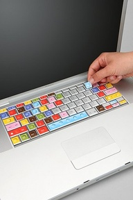 Coloring keyboards