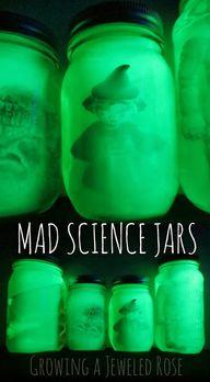 Mad Science Jars Hal