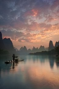 Li River Sunrise by