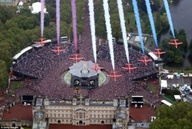 The Jubilee Fly Past