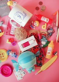 Cute travel mess | P
