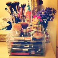 My make up storage