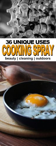 36 Clever Uses for Cooking Spray | Fluster Buster