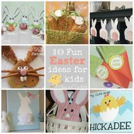 Fun Easter ideas to
