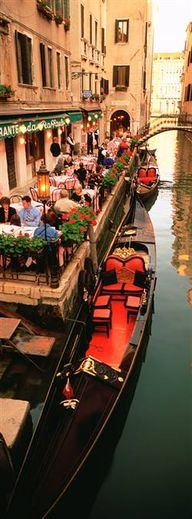 Gondolas Outside of