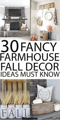 31 Best Farmhouse Fall Decor Ideas and Designs