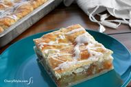 Apple slab pie — an