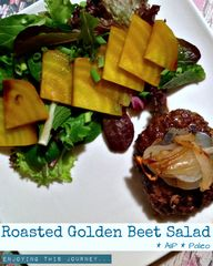 Roasted Golden Beet