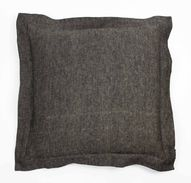 Reflection - Charcoal | Linen cushion | 56x56cm — A & H Wills