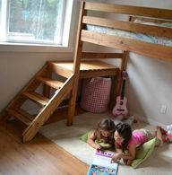 Camp Loft Bed with S