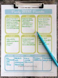 Family Dinner Favori
