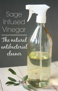 Sage Infused Vinegar