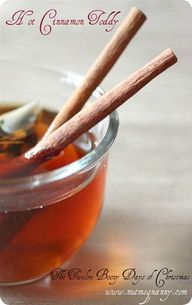 Hot Cinnamon Toddy -