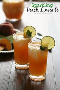Sparkling Peach Lime