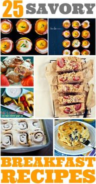 25 Savory Breakfast
