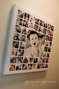DIY one large photo