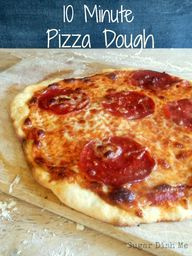 10 Minute Pizza Doug
