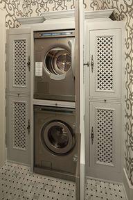 doors to laundry
