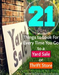 21 Things to Look Fo