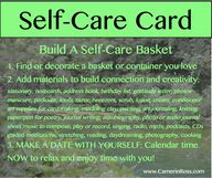 Self-Care Card: Make
